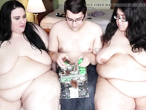 SSBBW Feedees Force Fed & Force Orgasm From Feeder