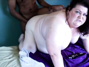 CHUBBY Hotwife Kristy Alley First Time Ever fucked Ass Fuck cuckold