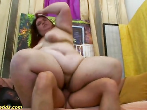 extreme chubby plumber mom gets rough fucked