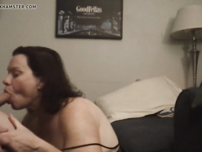 WIFE Gives AMAZING Oral:PRICELESS Reaction To Big Load!!