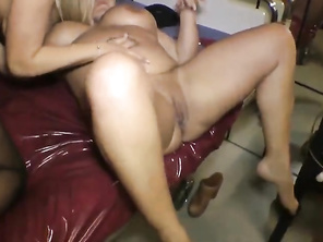 PLUMP Topheavy Milf Invited Her Mom Neighbor To Fuck Husband