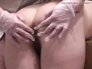 chubby medical examination with ass fuck fisting