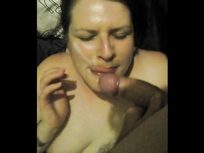 Thick Load Of Cum In The Mouth