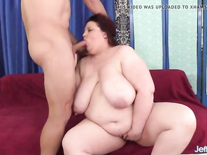 Massive Tits FATTY Stazi Gets Rough Ass Fuck