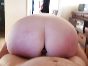Gf rides me then puts it in her butt