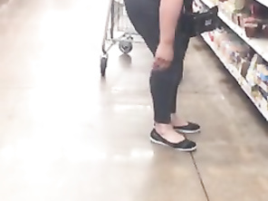 Wife Candid Bending Over