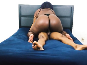 My Black FAT Mistress Came Over To Play
