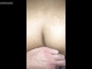 Plump dark creampie