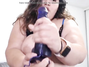 Buxomy Latin plumper Karla Lane with hairy bush pussy