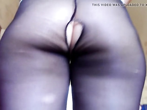 huge butt pantyhose mature