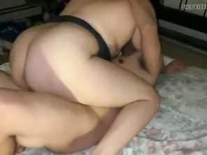 Milf fucks friend RAW