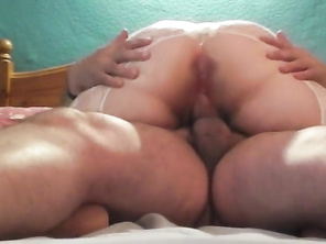 Mama Huge Chubby Butt takes my Cock