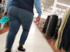 Bbw Ghetto Butt In Jeans