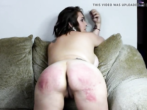 Huge Bottom Belting - (Spanking)