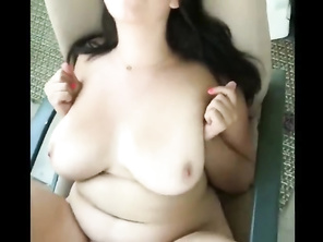 PLUMP Housewife Enjoying Sexy Sex with Her Boss On Vacation