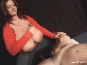 with her huge tits she will find another guy
