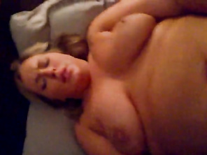 Plump housewife talks dirty