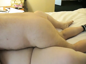 My CD Friend Fucks my SSBBW GIRLFRIEND for the third Time while I Watch