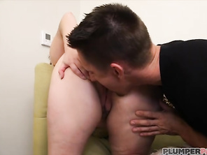Beautiful Big Tit Bbw Young Milly Marks Sucks and Fucks Big White Dick