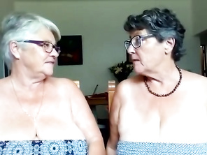 My Teasing Aunties, Donna and Sue, Show some Deep Cleavage