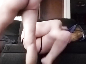 Thick HOUSEWIFE Takes it Balls Deep!