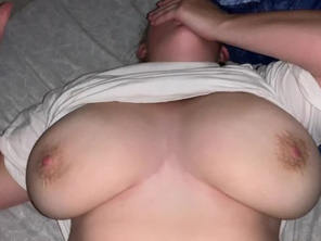 Creampie CHUBBY Young with Big Tits