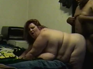 Beautiful Cheating SSBBW with Big Tits Takes it Doggy from BBC