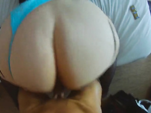 PAWG Sammy Gets Analized Doggy-Style & Spunk over that Hella Booty