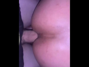 FATTY Moans with a BWC in her Butt Shhhh