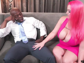 Slutty Boss Seduces Employee with BBC