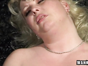 It thrusts in and out of her sweet pussy extremely violently - that's got to hurt.
