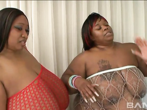 Bigger is better when it comes to sex, especially if you have a fat fetish and these black babes came to satisfy.
