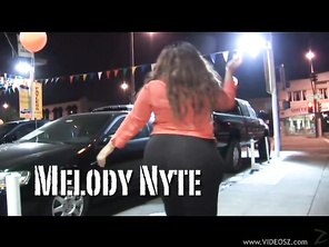 You know you're in for a wild ride when you see Melody Nyte taking her clothes off.