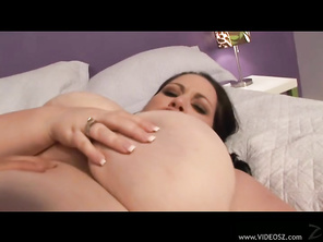 You've never seen dangerous curves like these, and it's a pleasure to see this shaved fleshy pussy getting dicked.