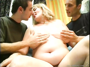 Mature and very sexually experienced, this blonde mom is ready to show these studs a thing or two about fucking.