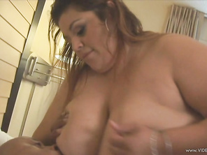 Reyna Cruz and Victoria Secrets take part in this FFM hardcore threeway, where these two BBW take turns sharing their lover's big, thick cock during a blowjob.