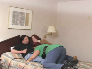 Anastasia Sands and Peaches Larue are a couple swingers you are going to try a FFM hardcore, threesome with the one girl's husband.
