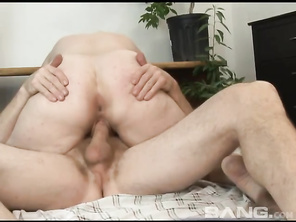 You'll see her massaging her clitoris and hairy twat, as she masturbates for an orgasm, before giving her boyfriend a blowjob.